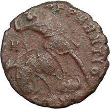 CONSTANTIUS II Constantine the Great  son Ancient Roman Coin  Horse man i33345
