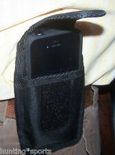 Fits IPhone 5 with Lifeproof case Cell Phone Holster case has belt loop Black