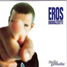 CD CARTONNE CARDSLEEVE EROS RAMAZZOTTI 2T stella gemella de 1996 !!!!