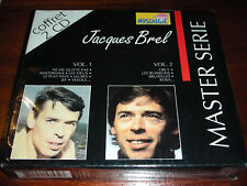 coffret 2 CD JACQUES BREL 32 titres NE ME QUITTE PAS