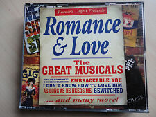 Romance and Love: The Great Musicals- 2 cd set of soundtracks.Readers Digest