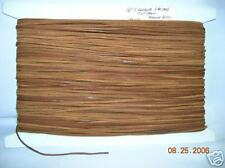"""LACE LACING 1/8""""LEATHER TRIMS Raw edge Buck Closeout Sewing Notions  50 yd"""