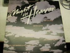 A Night In Heaven-OST-Various-LP-Vinyl Record-A&M-SP4966-VG++