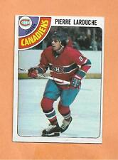 PIERRE LAROUCHE  TOPPS 1978-79 CARD # 35 CANADIANS