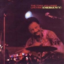 The Tony Williams Lifetime - Emergency Audio CD UK Fast