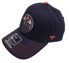Men's Edmonton Oilers Fanatics Branded Depth Alpha Hockey Adjustable Hat - Navy