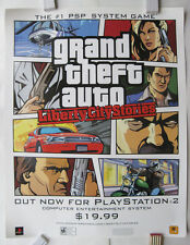 Grand Theft Auto Liberty City Stories USA Store Promo Poster 71 x 56 US Format