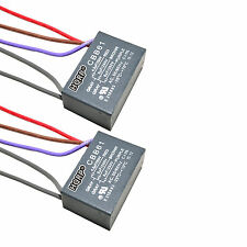 2-Pack Capacitor for Harbor Breeze Ceiling Fan 4.5uf+5uf+6uf 5-Wire CBB61