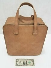 Bausch & Lomb Vintage Large Storage Carry Case Brown Faux Microscope Equipment