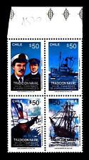 CHILE - CILE - 1991 - Tradizione navale: 75° del salvataggio di Shackleton
