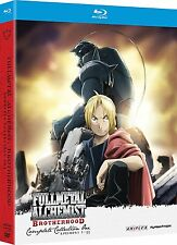 Fullmetal Alchemist Brotherhood Complete Collection One Blu Ray RARE + SlipCover