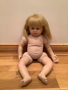 Lovely Large Soft Bodied Doll. (Marked Dolls House)