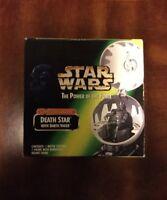 STAR WARS DEATH STAR & DARTH VADER COMPLETE GALAXY POTF KENNER 1998