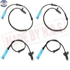 For BMW E39 525 528 540 Front Rear Left Right ABS Wheel Speed Sensor Set of 4