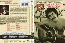 KENNY ROGERS;ROLLIN'VOLUME 2(JIM CROCE,BO DIDLEY).Uncut RARE R1 DVD