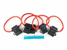 5 Pack 10 Gauge In-line ATC Fuse Holder+15 AMP Fuse w/Cover Car Truck Install US