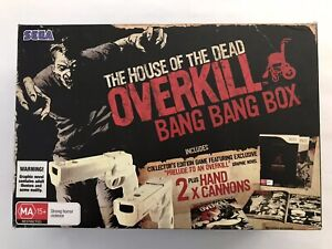 The House Of The Dead Overkill NINTENDO Wii Bang Bang Box Collectors RARE
