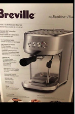 Breville The Bambino Espresso Coffee Maker Machine Brushed Stainless Steel