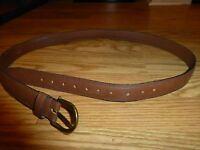 Men's Brown Dress Belt