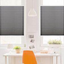 Klemmfix Plissee Faltrollo ohne Bohren Jalousie Fenster Verdunklung Länge 130 cm