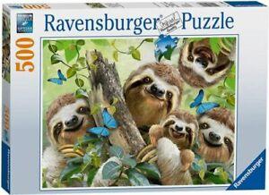 Ravensburger 14790 Sloth Selfie 500 Piece Jigsaw Puzzle *Brand New*