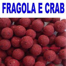 boilies carpfishing pastura pesca carp fishing aromi boilie boiles fragola crab