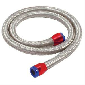 """Spectre Hose Fuel Braided Stainless Red/Blue Magna-Clamp Ends 5/16""""x3 ft. Len EA"""