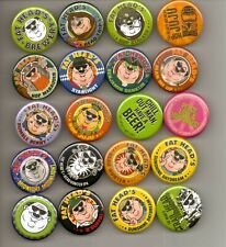 Fat Head's Brewery Button Set - 20 Pins - Holy Fatheads Set!