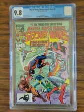 MARVEL SUPER-HEROES SECRET WARS #3 (1984) CGC 9.8 1st Titania