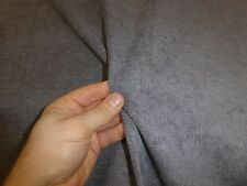 1.8 metres of STEEL GREY - Chenille Weave Upholstery Fabric
