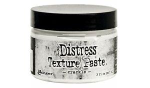 New for 2020 Ranger Tim Holtz Distress Texture Paste CRACKLE 3 fl. oz. TDA71303
