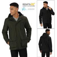 Regatta Mens Sterlings Hooded Jacket Hydrafort Windproof Waterproof Coat RRP £90