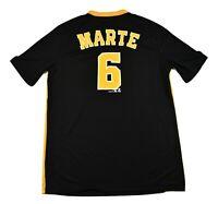 MLB Mens Pittsburgh Pirates Starling Marte TX3 Cool Jersey New L, 2XL, 3XL