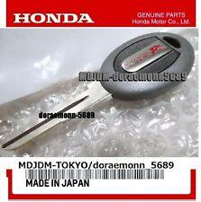 Oem Key Blank  Jdm INTEGRA Type R DC2 DB8 B18C Genuine Honda Part