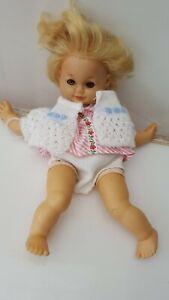 Puppe Schildkröt Schlummerle Schlafaugen Vintage 60er Antikspielzeug Rarität