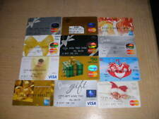 Credit Charge cards    12 different new collectible gift cards