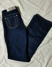 Jennifer Lopez Bootcut Jean Denim Jeans Mid Rise Slim Through Hip thigh VICTORIA