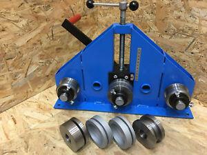 Tube Roller Bender / RING ROLLER - Flat Bar Tube Pipe Profile Box Bender