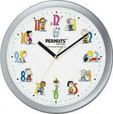PEANUTS SNOOPY CITIZEN Wall Clock Round Clocks Home Deco from Japan D4049