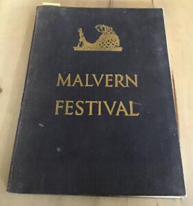 Malvern Festival 1949 Theatre Programme Hardback Book