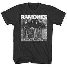 Ramones 1st Album Cover T Shirt Mens Licensed Rock N Roll Music Concert Black