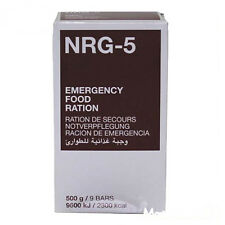 5 boîtes Notverpflegung á 9 urgence Barrette longtemps conservés Emergency Food nrg-5