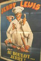 XLFilmplakat,Plakat,AU BOULOT JERRY,ALLES IN HANDARBEIT,JERRY LEWIS,S OLIVER#176