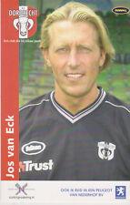 AUTOGRAMMKARTE / AUTOGRAPHCARD Jos van Eck FC Dordrecht 2003/2004