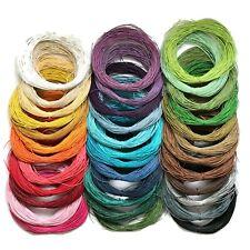 1mm Waxed Cotton Cord, Shamballa, Macrame, Jewellery, Wax Cord (C,D)
