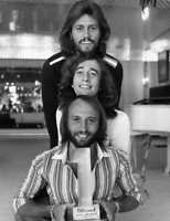 The Bee Gees 1977 Black And White  8x10 Picture Celebrity Print