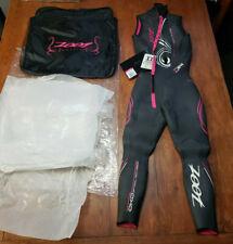 Zoot Women's Xs Z Force 3.0 Wetzoot Sleeveless Triathlon Wetsuit X-Small