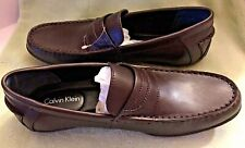 Calvin Klein Men's Shoes, Walden Leather Loafer, Size 8 1/2 Medium - NEW IN BOX