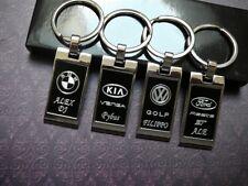 Schlüsselanhänger VW AUDI A1 A2 A3 A4 A5 A6 Q2 Q3 Q5 Q7 S LINE BMW OPEL + gravur