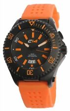 CARBON 14 MENS SPORTS DIVER WATCH EARTH COLLECTION E2.2 ORANGE BRAND NEW BOXED